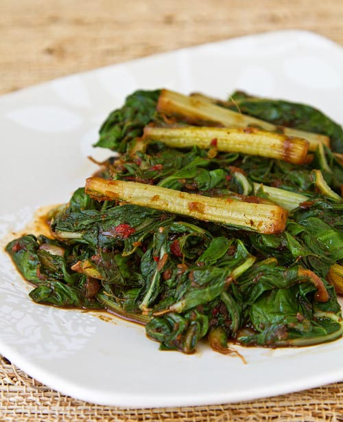 Stir-Fried Asian Greens