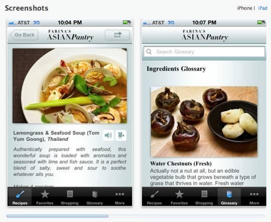 Farina's Asian Pantry App