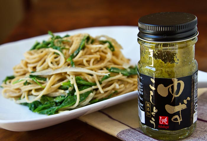 Arugula & Burdock Root Yuzu Kosho Cream Pasta Recipes — Dishmaps