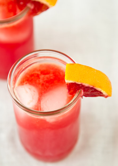 Blood Orange Tonic Recipe — La Fuji Mama