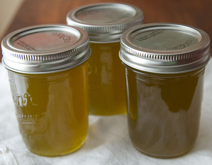 Jars of Three Pepper Jelly