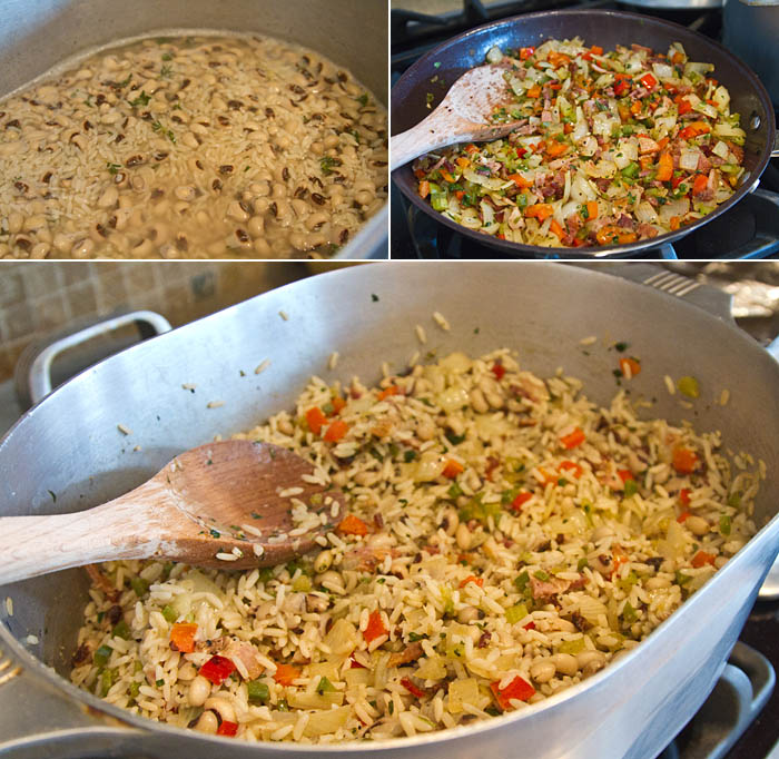 Making Hoppin' John