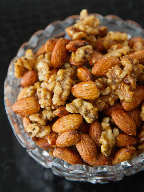 Salt & Pepper Roasted Nuts