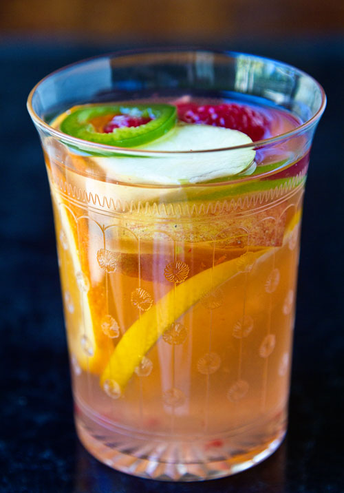 Virgin Spicy White Sangria