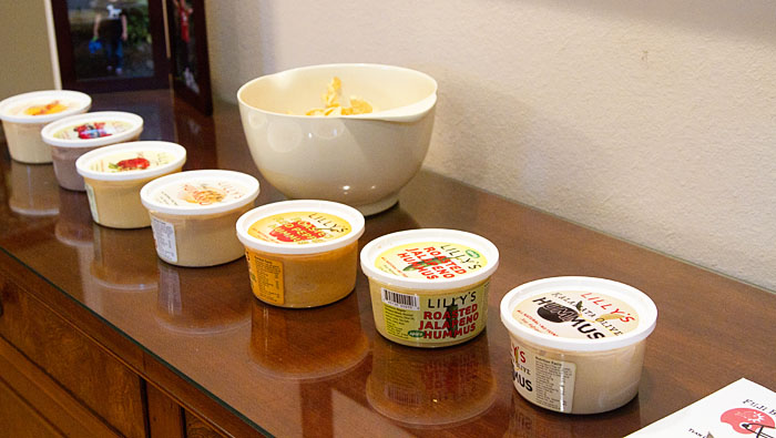 The Lilly's Hummus Lineup