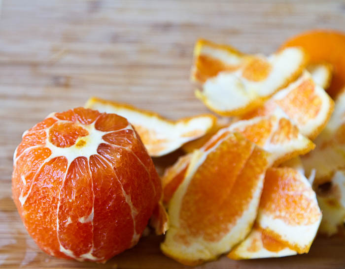Cara Cara Orange being supremed
