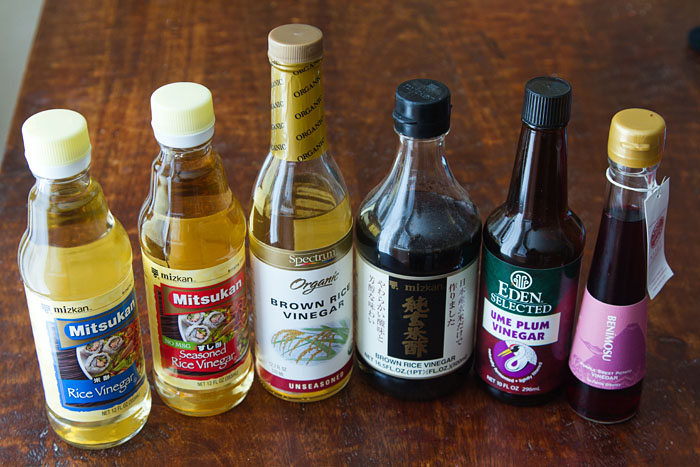 Japanese Vinegars
