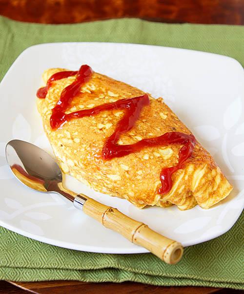 Omurice, Japanese Omelette Rice