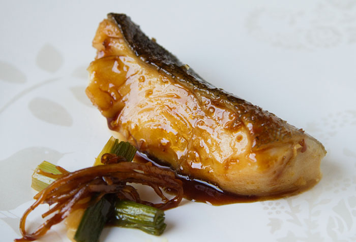 Braised Alaskan Black Cod