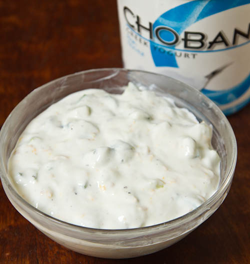 Cucumber Greek Yogurt Sauce