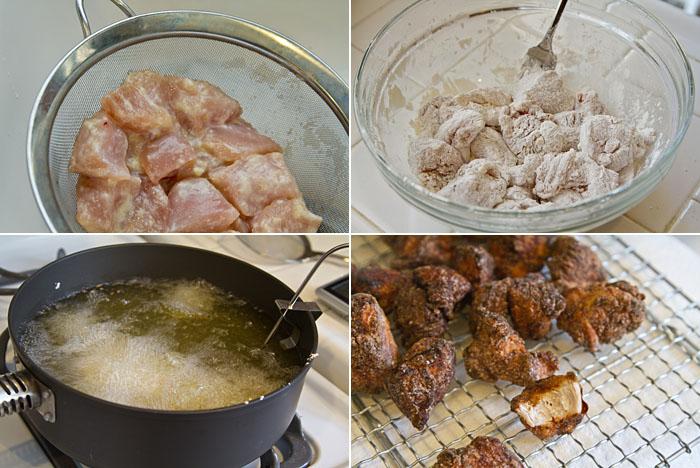 Making Shio Koji Chicken Karaage