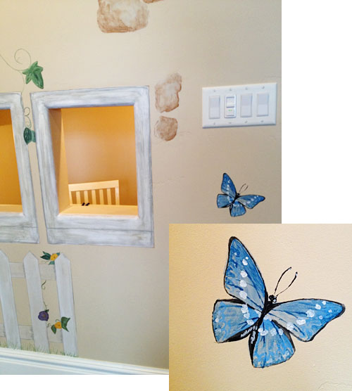 Painting the playroom