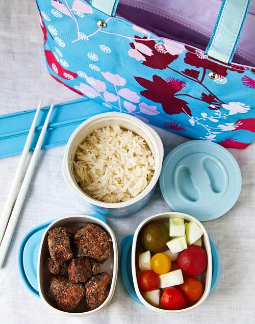 Shio Koji Karaage packed in a bento