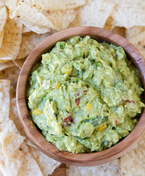 Party Perfect Cotija Chipotle Corn Guacamole