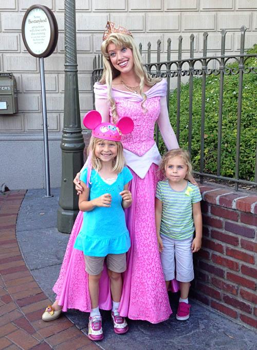 Fujilings with Princess Aurora