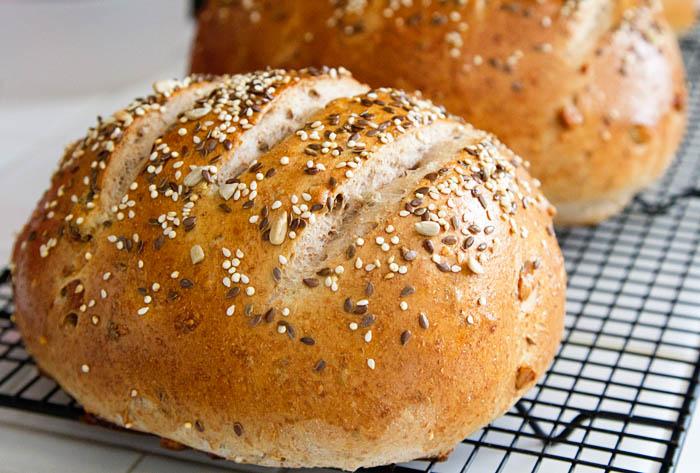 Seed Fruit Nut Bread Recipe La Fuji Mama