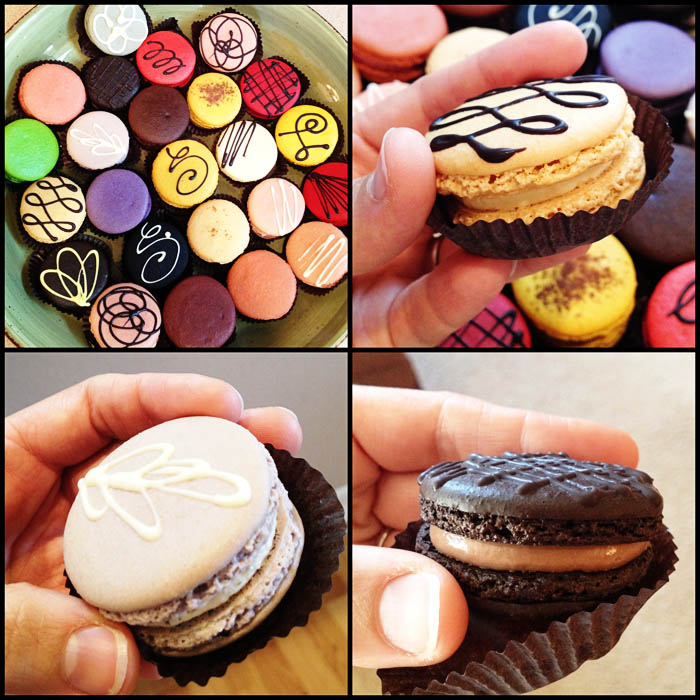 Macarons from Sucree