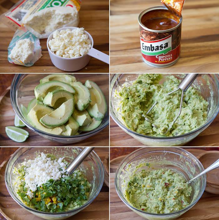 Making Elote Guacamole