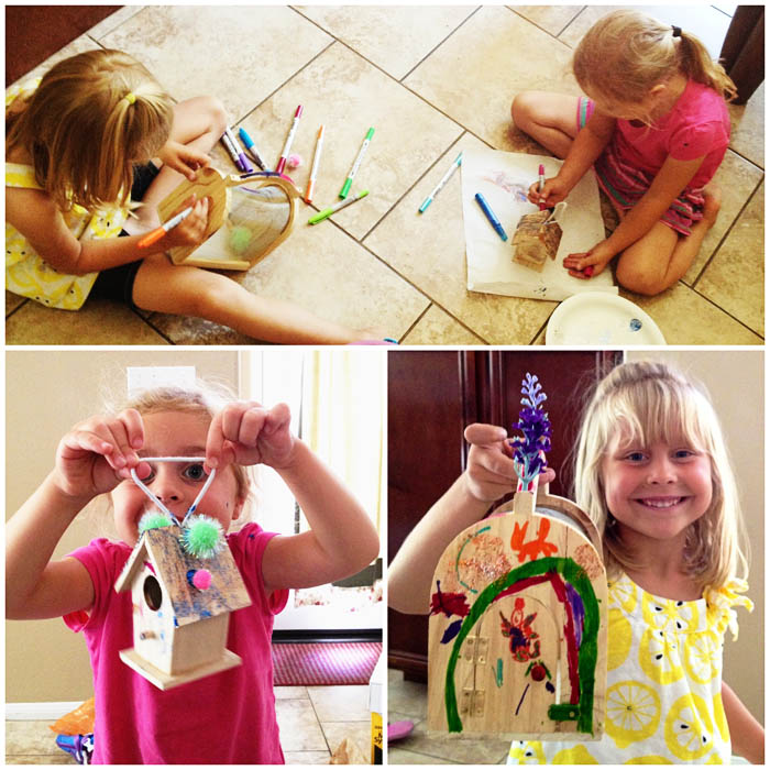 Making fairy houses with the Fujilings