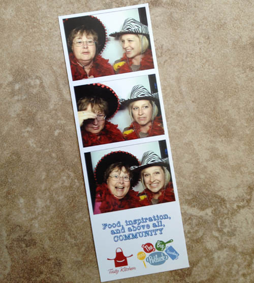 Photo booth fun with Mimi Avocado
