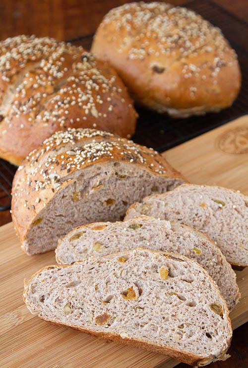 Seed, Fruit & Nut Bread