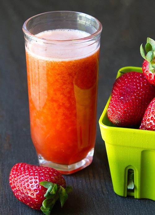 Strawberry Basil Meyer Lemonade