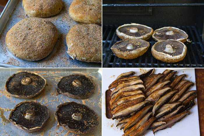 Grilled Portobello Mushroom In A Porcini Cream Sauce ...