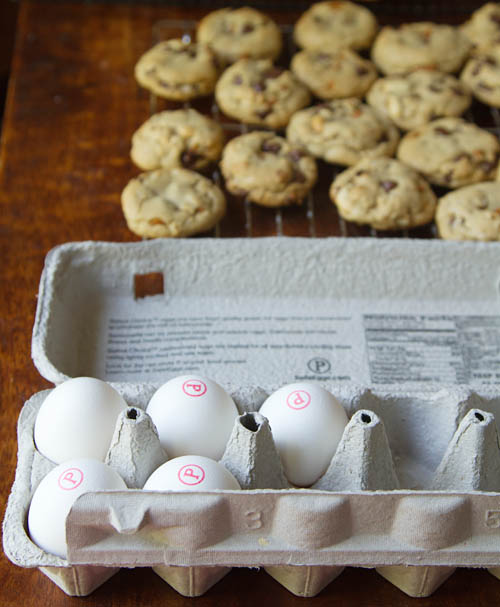 Making cookies with Safest Choice Eggs