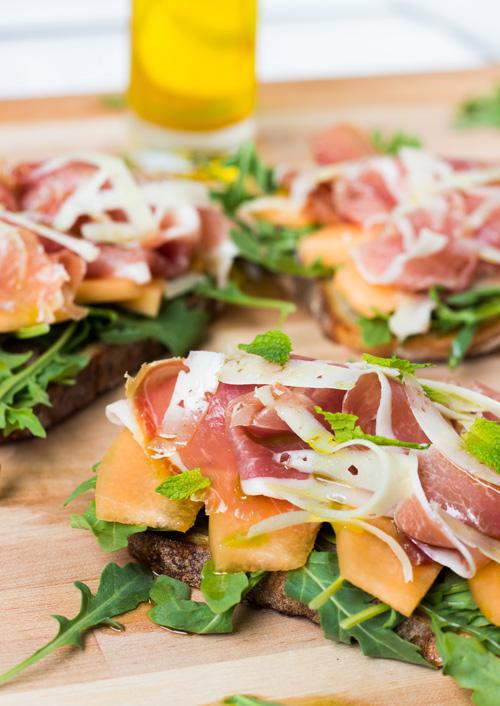 Serrano Ham Melon Sandwich 2
