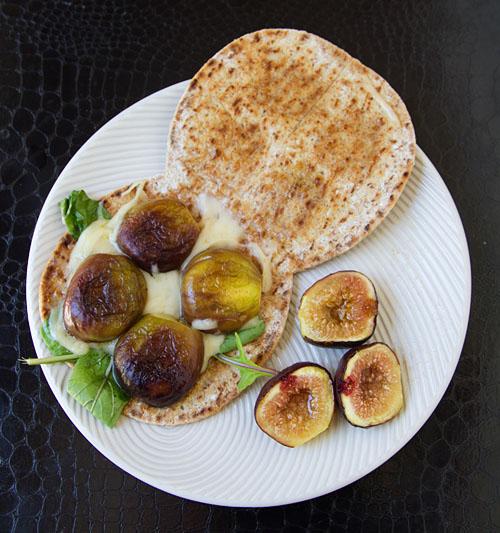 Fig & Jarlsberg Flatbread Sandwich