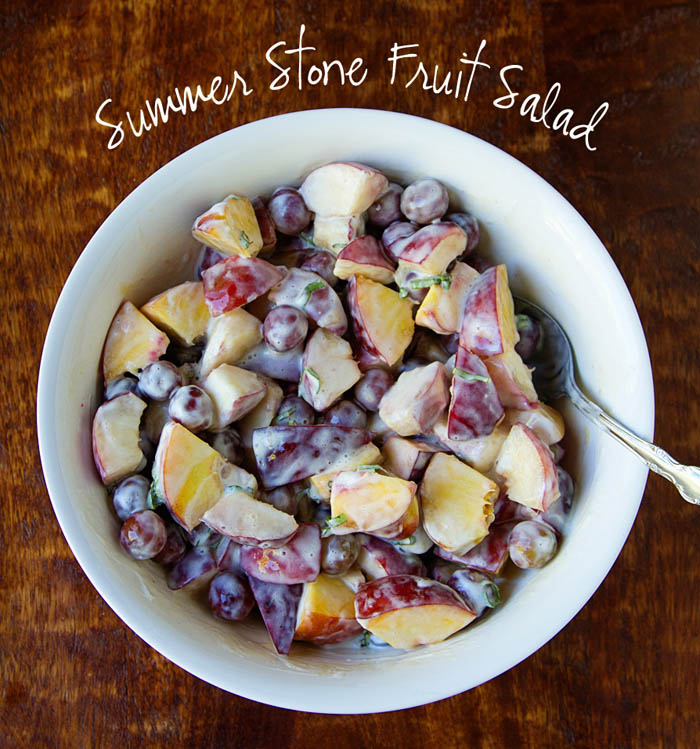 Summer Stonefruit Salad 700px wide