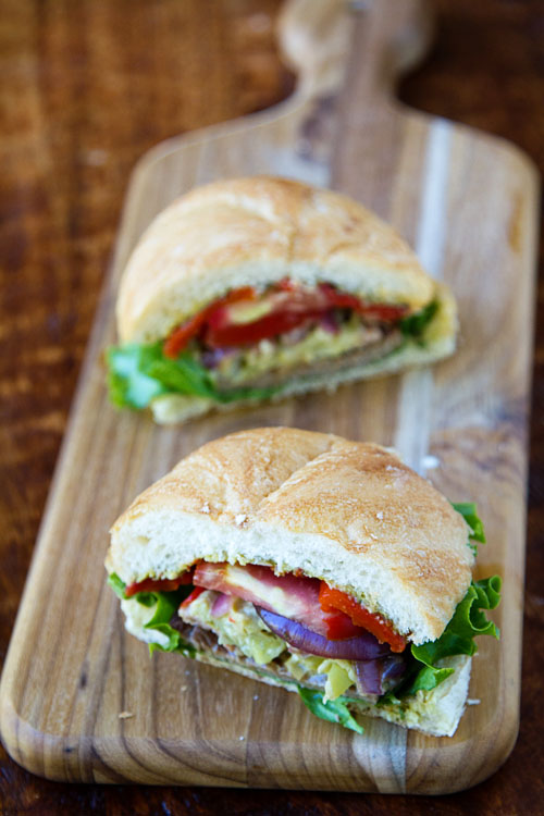 Bob's Dagwood Steak Sandwich 2