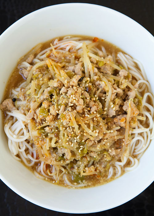 Hatch Chili Tantanmen