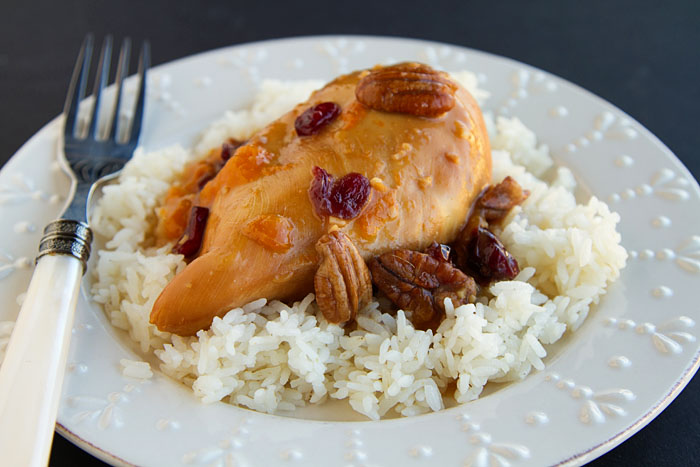 Apricot Cranberry Pecan Chicken