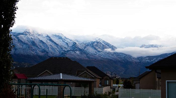 Chilly Utah Day