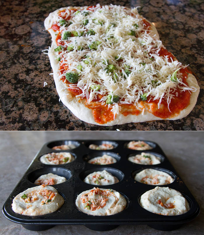 Weelicious Stuffed Pizza Rolls + A Weelicious Lunches Cookbook ...