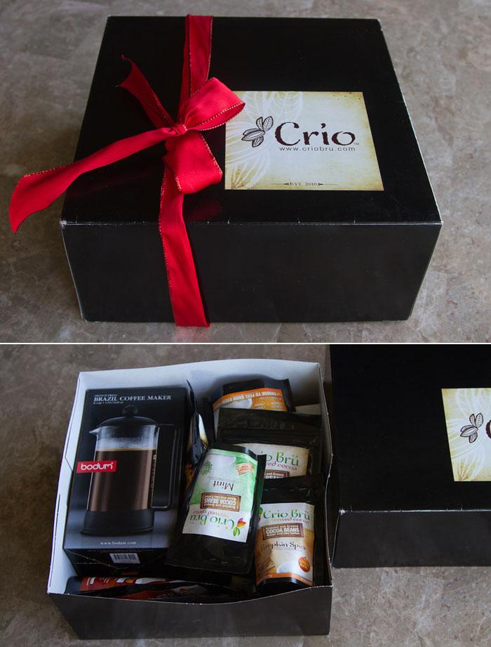 Crio Bru Gift Box giveaway