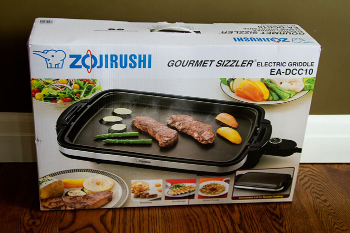 Zojirushi Gourmet Sizzler Electric Griddle