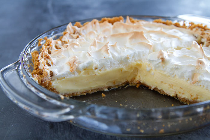 Lemon Ice Box Pie Recipe — La Fuji Mama