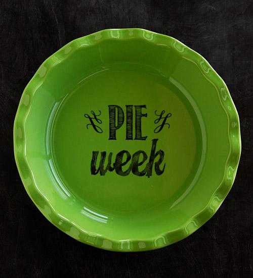 Pie Week 2014