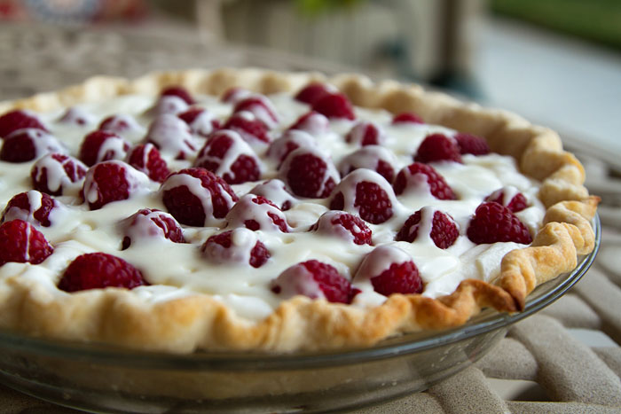 White Chocolate Raspberry Pie 2