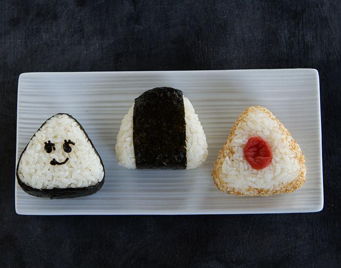 Triangle Onigiri Examples
