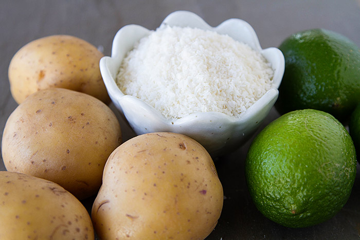 Potatoes, Limes, and Coconut