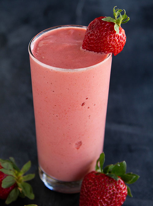 Strawberry Frappé