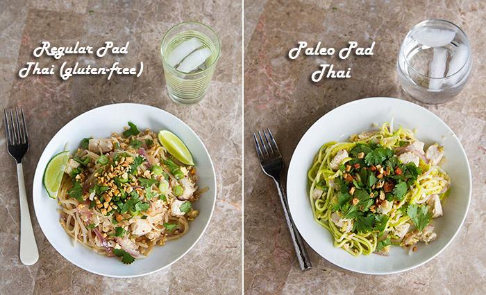Chicken Pad Thai 2 Ways