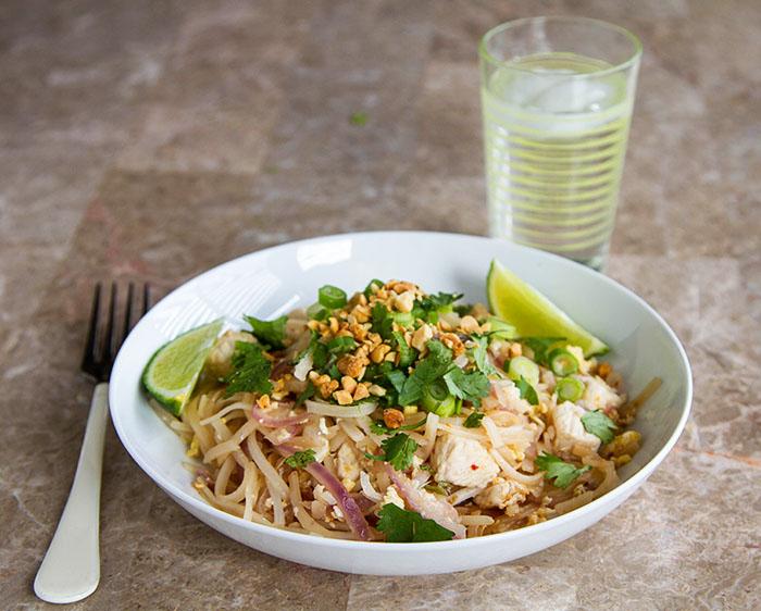 Chicken Pad Thai 3