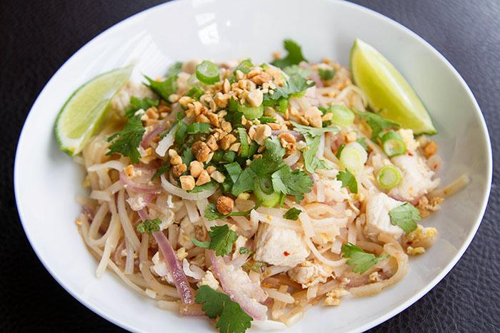 Chicken Pad Thai Recipe — La Fuji Mama