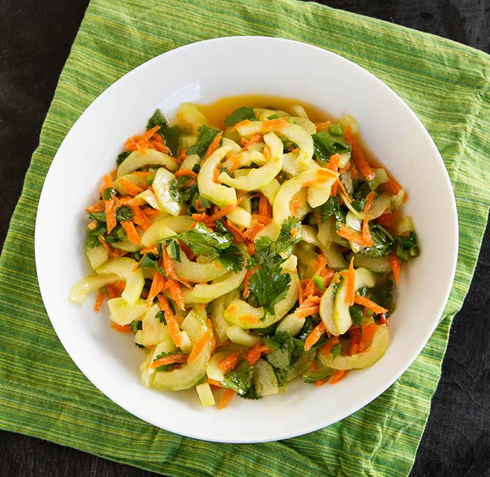 A Taste of Tanzania Cucumber Salad