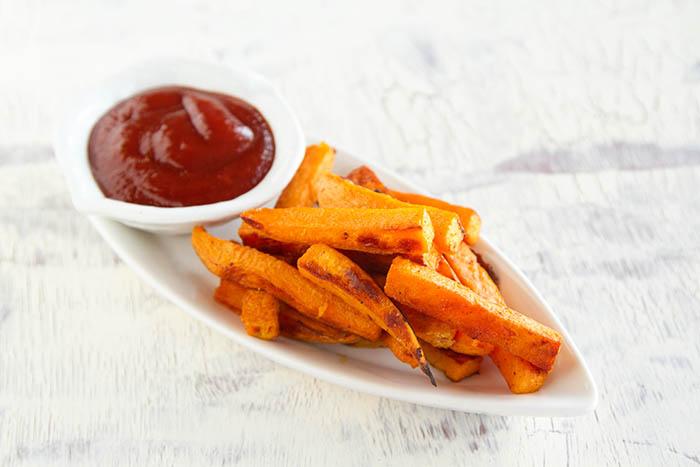 Simple Sweet Potato Oven Fries