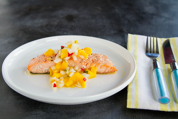 Baked Verlasso Salmon